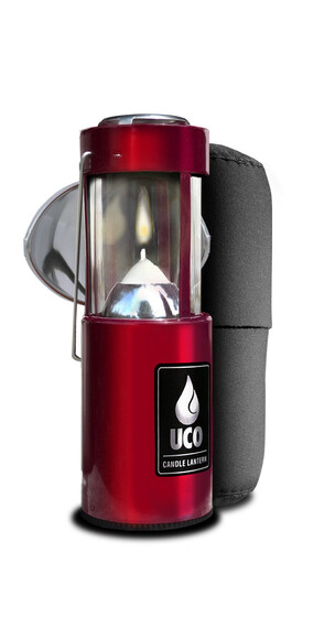 UCO kit lampe à bougie rouge